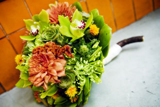 Succulent Bowl Florals by Organic Elements Photo by Susie Linquist